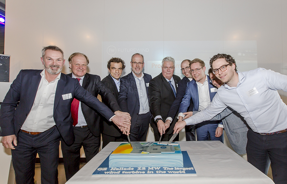 GROUNDBREAKING CEREMONY  AT FUTURE HALIADE-X 12 MW PROTOTYPE SITE IN ROTTERDAM