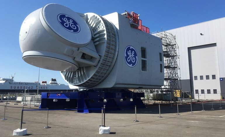 GE UNVEILS THE FIRST HALIADE-X 12 MW NACELLE