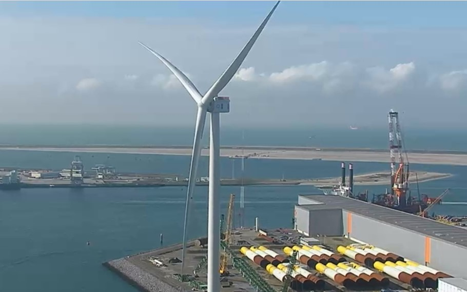 World's most powerful wind turbine completely installed!